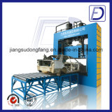Machine carrée de cisaillement de feuille du rebut Q15-250