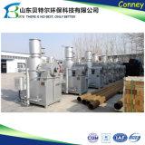 Inceneratore residuo medico dell'ospedale poco costoso che non dà fumo di Wfs-500kg