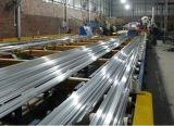 Profil en aluminium expulsé de tube de section en aluminium