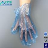 Полимерной упаковки подушек безопасности одноразовые Trasparent PE перчатки с низкой цене