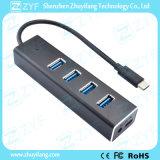 4 de Hub van het Type C USB van haven USB 3.0 (ZYF4015)