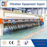 Imprensa de filtro controlada da membrana para o tratamento de Wastewater de matéria têxtil
