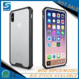 Verteidigung-transparenter Schoner-Handy-Fall für iPhone 8