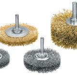 Balai de fil d'acier circulaire de machines