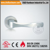 SS 316 Solid Door Handle auf Rose