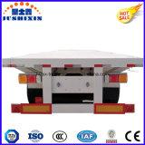 3 des essieux 20/40FT de lit plat de conteneur d'utilitaire remorque semi à vendre