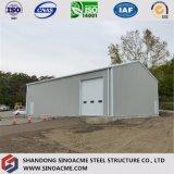 Конструкция пакгауза стальной структуры низкой стоимости светлая