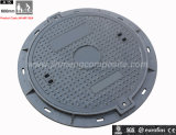 En124 650mm Round SMC/FRP Telecom Manhole Cover/Inspection Cover