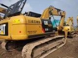 Lagarta usada muito boa 323D da máquina escavadora da condição de trabalho