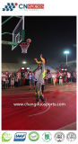 Campo da pallacanestro di gomma molle sintetico dell'unità di elaborazione del silicone di vendita calda per i giochi di sport