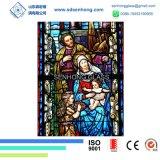 Запятнанное печатание цифров стеклянное для церков