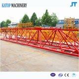 Grue à tour de la longueur 60m de potence du chargement 8t Tc6010 de la Chine