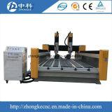 De Onafhankelijke Dubbele Steen van uitstekende kwaliteit van Hoofden en de Marmeren CNC Machine van de Router