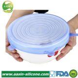 Couvercle en silicone universel Food-Grade, couverture souple en silicone stretch