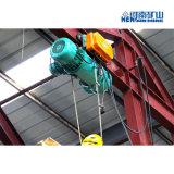 Elevador de doble velocidad de 5t el cable eléctrico de monorraíl