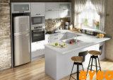 Gabinete de Cozinha Lustroso Elevado Moderno do Revestimento da Laca de Austrália