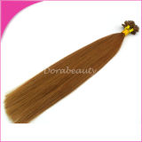 U Tip Keratin Hot Fusion Indian Remy Hair Extensions
