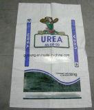 鉱物、まきおよび粉、25kg.のための50kg環境PPによって編まれる袋