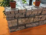 Rete metallica elettrozincata Gabion per la parete