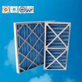 G3 G4 90% Relatieve vochtigheid Geplooide Filter van de Lucht van het Karton Pre