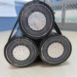 1X50mm2 알루미늄 낭 케이블 서비스 하락 케이블 머리 위 케이블