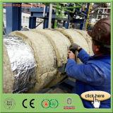 Couverture de laines de roche d'isolation thermique