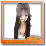 Peluca de la manera de la peluca delantera de seda brasileña del cordón