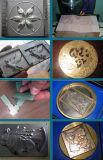 CNC resistente de la medalla del metal que talla la máquina