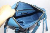 2016の新しいデザイナー方法織り方PUの肩のハンドバッグ