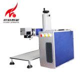 Мини-CNC пластмассовые металлические лазерное оборудование принтера 20W волокна станок для лазерной маркировки