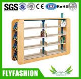 Biblioteca moderna de produtos de madeira