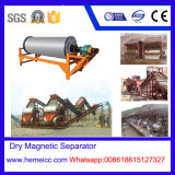 Séparateur magnétique sec pour le sable, les roches volcaniques, le minerai doux