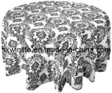 Tableau Baroque Tableau floqué en Tissu Tissu (WLTC027)