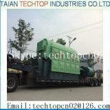 chaudière allumée par charbon simple de chaudière à vapeur de charbon de tambour de 10ton Chine