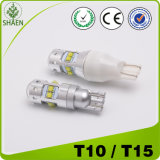 Indicatore luminoso dell'automobile di alto potere T10 65W LED di Epistar 16SMD