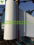 Colore bianco 750X1500X25um del rullo di pellicola del silaggio per il servizio della Danimarca