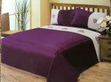 Polyslub Silk Cloth Patch Camada bordada