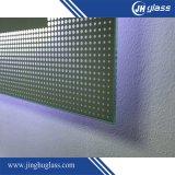 Miroir LED intelligent en acier inoxydable avec Bluetooth
