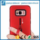 Caja híbrida combinada sostenedor del teléfono móvil del anillo para el iPhone 66splus