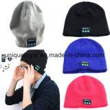 Chapéu morno da música do chapéu do Beanie de Bluetooth do inverno do Natal