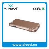 2016 Nuevo producto caja de batería del teléfono de la cubierta con el banco portable de la energía para el iPhone 6
