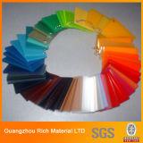 광고를 위한 색깔 던지기 PMMA 장 /Acrylic 장