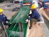 도매 Sgch는 직류 전기를 통한 물결 모양 강철 루핑 장을 Prepainted