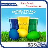 Bunte Partei-Wegwerfplastikcup
