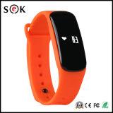 Nueva pulsera elegante de la presión arterial del dispositivo M8 del OEM del diseño, la pulsera elegante más nueva M8 del podómetro del deporte de Bluetooth 4.0 de la salud