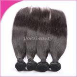 工場価格のBrazailianの自然な人間のバージンの毛の拡張人間の毛髪