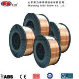 CO2 MIG alambre de soldadura ER70S-6 / Sg2 de cobre recubierto de alambre Solider
