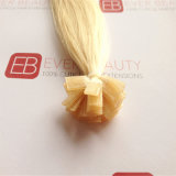 Extensions plates de la meilleure qualité de cheveux humains d'extrémité avec le cheveu brésilien