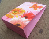A embalagem personalizada do presente do papel de impressão do projeto ensaca sacos de papel relativos à promoção