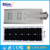 공장 높은 광도 LED 가벼운 정가표를 가진 미국에서 직접 판매 싼 20W 태양 운동 측정기 빛 6m Bridgelux